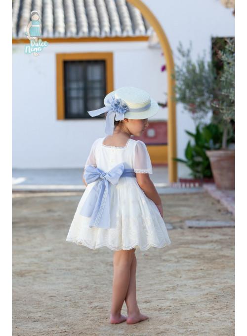 Vestido tul bordado dulce nena