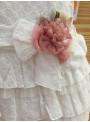 Vestido ibicenco T.B. bordado